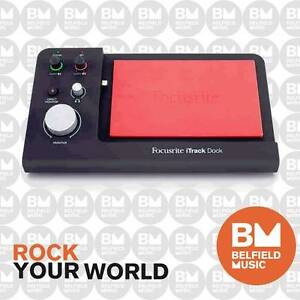 Focusrite iTrack Dock Pro Dock For Recording on iPad Bass Hill Bankstown Area Preview