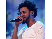 J. Cole, Standing tickets for Manchester Arena