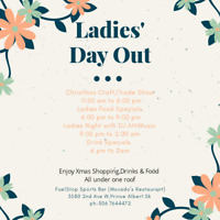 Ladies Day& night out in  FUELSTOP Sports Bar( Movado's)