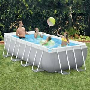 ** CLARK RUBBER ** (INTEX PRISM FRAME POOL 13FT) 4M x 2M x 1M