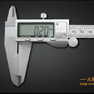 0-300mm 12 Height Vernier Calipers Lcd Screen Stainless Steel Vernier Guage