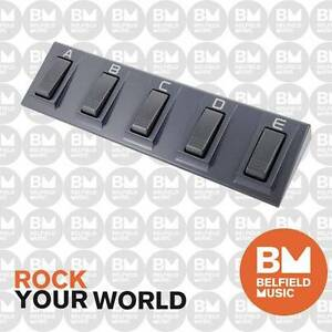 Korg EC5 Pedal Five Way Footswitch Bass Hill Bankstown Area Preview
