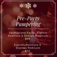 Pre-Party Pampering