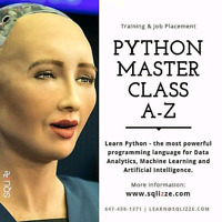 Python Masterclass A to Z! ML, Data Analytics & Visualization