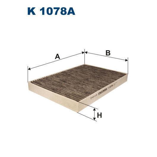 Innenraumfilter FILTRON K1078A