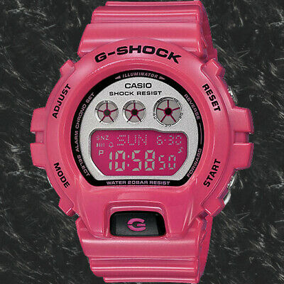 Casio GMD-S6900CC-4C Women's G-SHOCK Glossy Pink Resin Band Watch 200M New