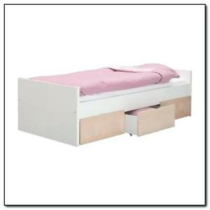 FREE Twim Malm Bed Frame with 3 Drawers - PICK UP PENDING