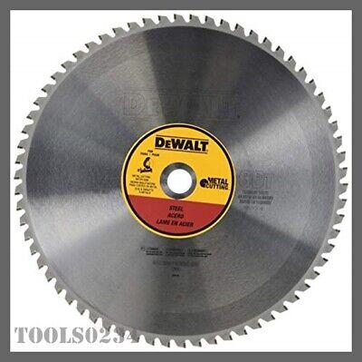 Dewalt Dwa7747 Metal Cutting Saw Blade 66t - 14 Diameter - 1 Arbor - 1800 Rpm