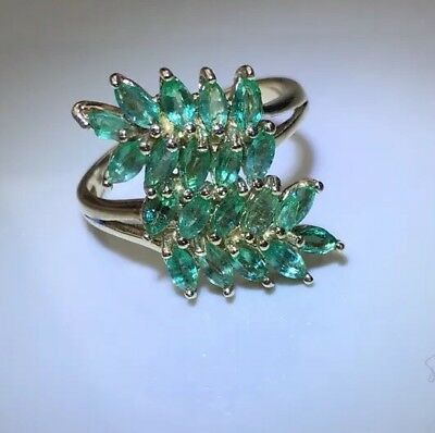 Emerald Ring 9ct Gold