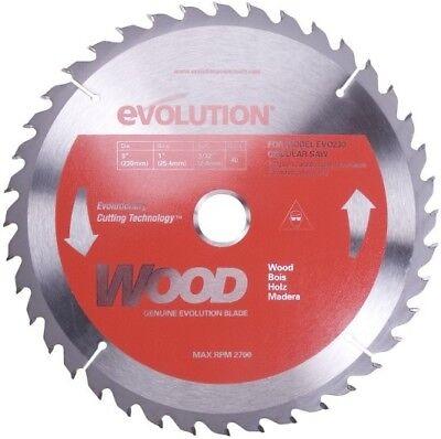 Evolution Tct 9 Wood-cutting Saw Blade 230bladewd