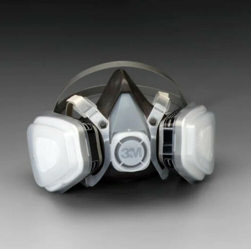 3M 53P71 Half Face Respirator For Paint Spray & Pesticide, Size: LARGE