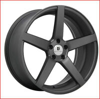 Roues (Mags) Boss Anthracite mat 18''  5-112
