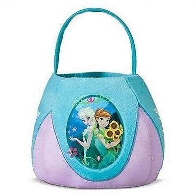Disney FROZEN Plush birthday gift Halloween Easter Basket New with tag 100%](Halloween Birthday Gift Baskets)