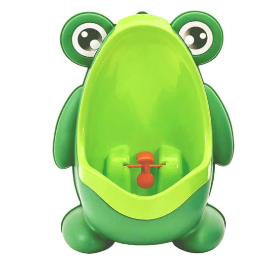 Cute Frog Shape Children Kids Potty Training Urinal for Boys
