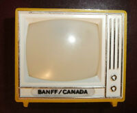 TV Shaped Viewfinder with 8 views of Banff