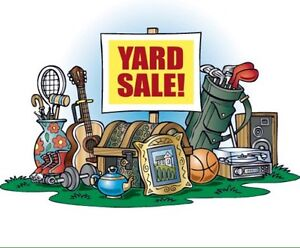 Yard Sale! Sunday June 25th!