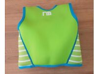 Mothercare swimming swim vest buoyancy aid 2 to 3 years REMOVABLE FLOATS