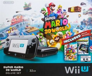 Wii U 32 GB Console with Super Mario 3D World & Nintendoland