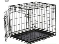 Dog Cage Required