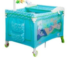 Fisher Price 2 in 1 Travel Cot and Playpen