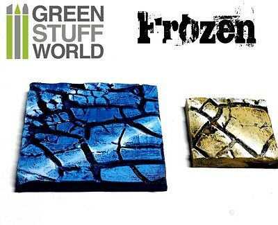 Rolling Pin   Frozen Drought Fields Texture   For Warhammer And Miniature Bases