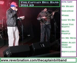 The Captain Bill Band 2016 AD Live