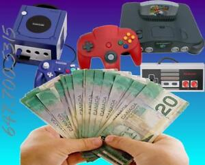 Buying Old Video Games - Top Dollar Paid $$$