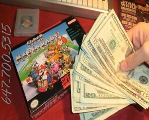 $$$ CASH PAID FOR VIDEO GAMES $$$