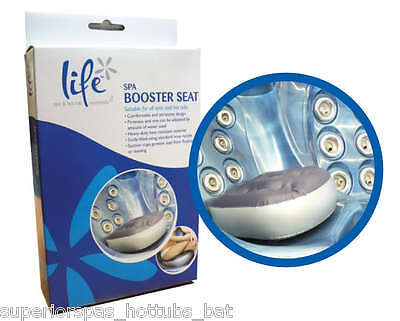 Inflatable Life Booster Seat Hot tub Spa Spas Cushion Ideal for Adults or Kids