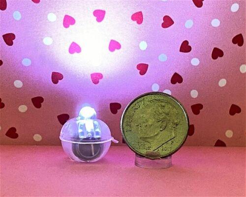 Dollhouse Miniature Lights - Tiny LED Lights with no cord - 3 per set