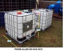 Water tank 1,000 Litre IBC ok for Aquaponics & 200 litre, 44 Gall Orelia Kwinana Area Preview