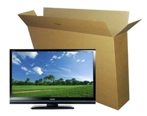 TV boxes made from Corrugated Cardboard