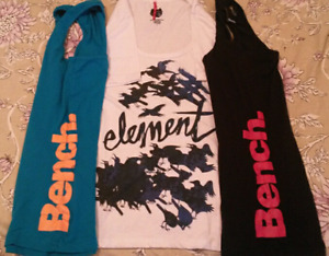 BNW/OT --Bench tanks, Element tshirt