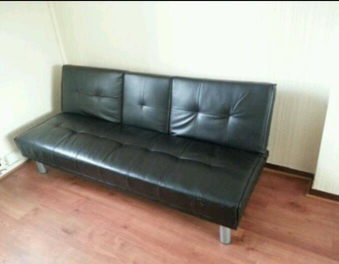 Leather sofa bed in whitburn west lothian gumtree for Sofa bed gumtree london