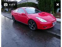 Toyota Celica Red 1.8 VVTI
