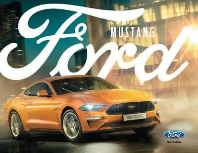 New Ford Mustang UK 2018 brochure - FREE POST!