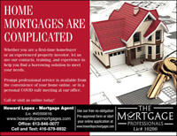 HOME MORTGAGES ARE COMPLICATED