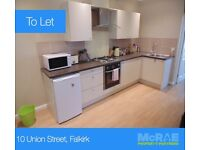 GOOD TENANTS WANTED FOR 1 1/2 BED FLAT, 10 UNION STREET, FALKIRK, FK2 7NU