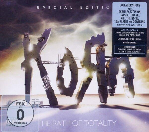 "KORN ""THE PATH OF TOTALITY""  CD+DVD NEU"