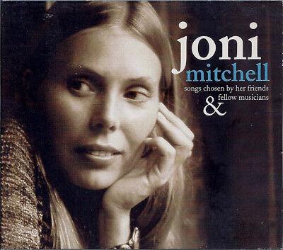 Joni Mitchell   Songs Chosen By Her Friends   Fellow Musicians   Rare Cd   New