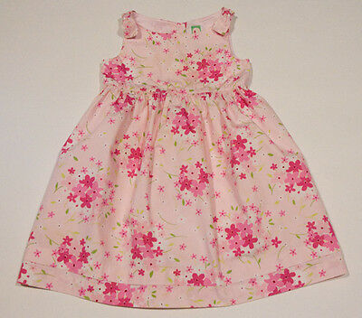 GYMBOREE GIRLS SIZE 4 DRESS PINK EASTER BASKET SPRING  FLORAL FLOWERS