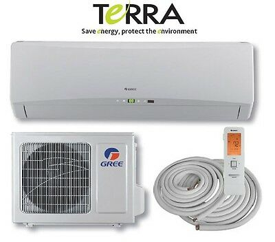 GREE TERRA 18000 BTU Mini Split Air Conditioner Heat Pump SE