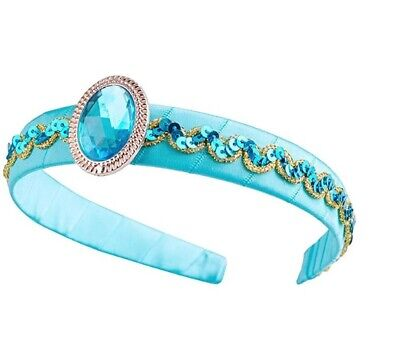 Princess Costume Accessories (Girls Jasmine Costume Headband & shining gemstone Princess Dress up Accessories)