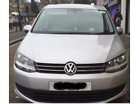 Volkswagen Sharan S Bluemotion Tdi S-A, 65k MILEAGE,READY FOR UBER,PCO,SAT NAV, FULL SERVICE HISTORY
