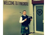 Bagpiper - weddings / Burns' Suppers / funerals / corporate events - Edinburgh
