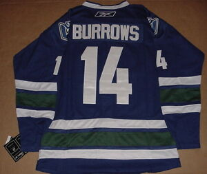Authentic Vancouver Canucks Alex Burrows Jersey #14 Windsor Region Ontario image 2