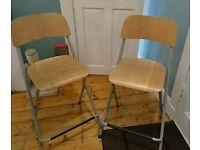Ikea breakfast bar stools x2