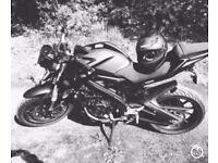 2015 YAMAHA MT-125 low mileage