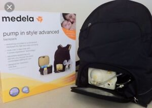 Double  Electric breast pump at backpack