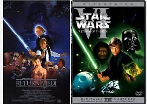 Looking for Star Wars 6 Return of the Jedi DVD